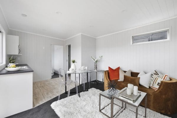 Unit Lounge and kitchenette